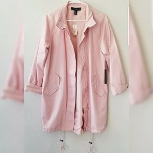 Forever 21 Womans Casual Long Trench Coat Oversize
